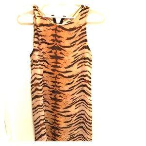 Tiger stripe dress